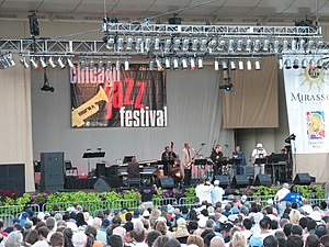 Grant Park (Chicago) - 2007 Chicago Jazz Festival at Petrillo Music Shell