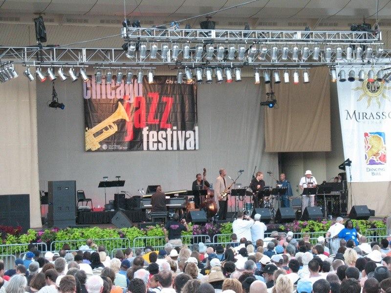 20070901 Chicago Jazz Festival at Petrillo Music Shell