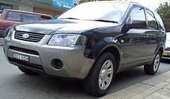 2005-2008 Ford Territory (SY) TX