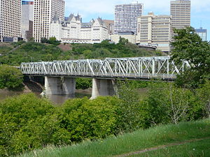 Low Level Bridge (Edmonton) - Image: 2008 06 03 Low Level Bridge