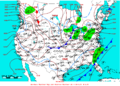 2009-01-29 Surface Weather Map NOAA.png