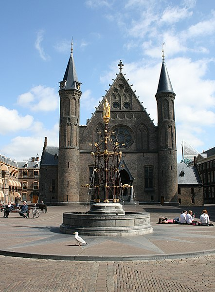 Binnenhof and the Knight's Hall, the political centre of the Netherlands
