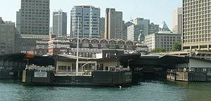 SeaBus - Waterfront Station SeaBus terminal