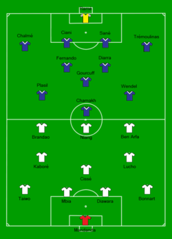 2010 French League Cup final - Olympique de Marseille vs Girondins de Bordeaux Line-up.png