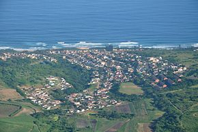 Aerial view of Tongaat
