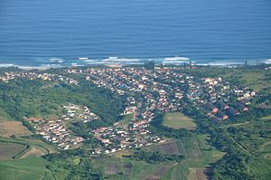 Tongaat - Aerial view of Tongaat