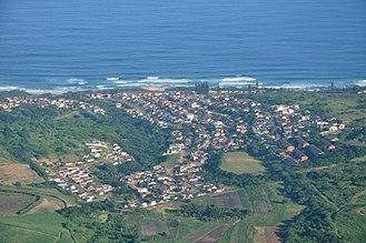 Tongaat - Aerial view of Tongaat