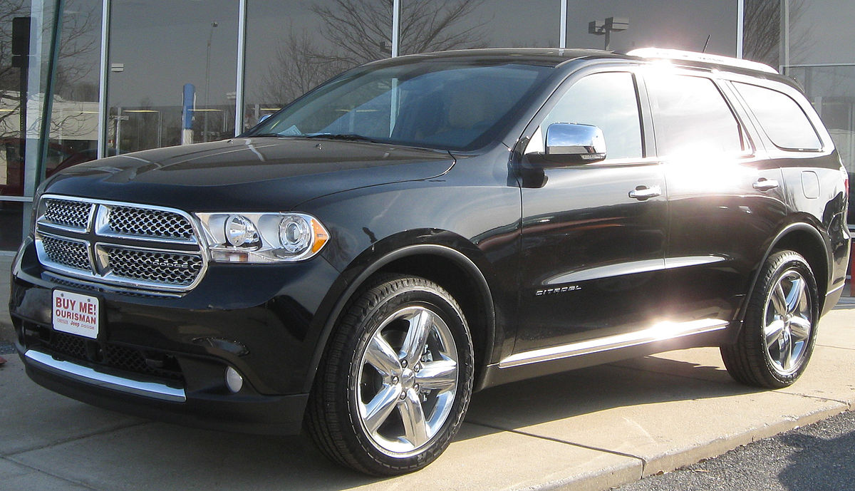 Dodge Suv List >> Dodge Durango Wikipedia
