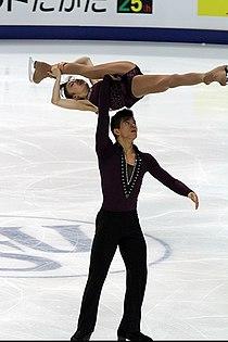 2011 World Championships Narumi TAKAHASHI Mervin TRAN 2.jpg