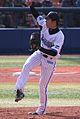 20120320 Hiroyuki Hukuyama, pitcher of the Yokohama DeNA BayStars,at Yokohama Stadium.JPG