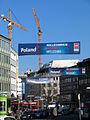2013-03-04 CeBIT banner Poland CeBIT Partner Country 2013 Willkommen Witamy Welcome Deutsche Messe Karmarschstraße Hannover.jpg