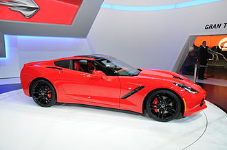 Chevrolet Corvette (C7) - 2014 Corvette Coupe at the Geneva Motor Show 2013.