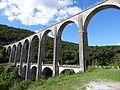 2013-08-10 Viaduc de Cize-Bolozon (rive gauche, aval).JPG