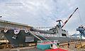 2013. 9. 천왕봉함 진수식 Rep. of Korea Navy ROK Ship Chunwangbong Launching Ceremony (9732841981).jpg