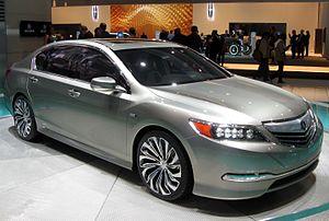 Acura RLX - 2013 Acura RLX concept