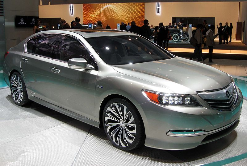 New Acura S Flagship 370hp 2014 Acura Rlx With J Series