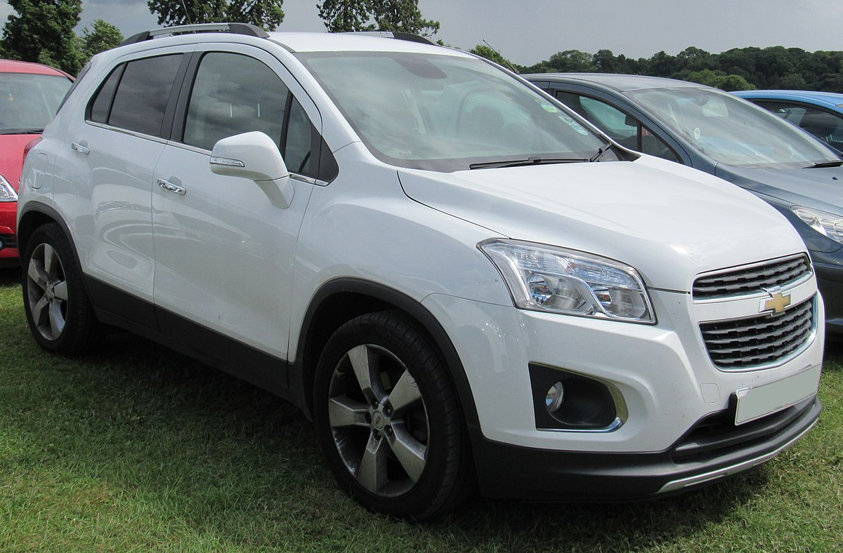 Chevrolet Trailblazer 2015 >> Chevrolet Trax Wikipedia
