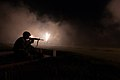 2013 U.S. Army Reserve Best Warrior Competition, M4 rifle night fire 130626-A-XN107-703.jpg
