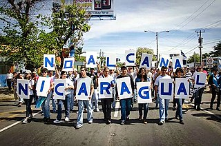 2013–2019 Nicaraguan protests 21st-century protests in Nicaragua