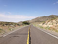 2014-07-17 09 46 30 View west along U.S. Route 6 about 125 miles east of the Esmeralda County Line in Nye County, Nevada.JPG