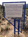 2014-08-11 16 02 51 Historic marker in Ward Charcoal Ovens State Historic Park.JPG