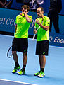 2014-11-12 2014 ATP World Tour Finals Alexander Peya and Bruno Soares by Michael Frey.jpg