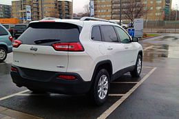 2014 Jeep Cherokee North 4x2 Edition Canada Rear.jpg