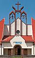 2014 Kłodzko,Kłodzko, kościół Podwyższenia Krzyża Św. 02.jpg