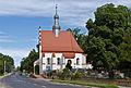 2014 Nysa, Kościół cmentarny Świętego Krzyża 01.JPG