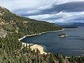 2015-11-01 10 19 09 View northeast down the northwest shore of Emerald Bay at Lake Tahoe, California.jpg
