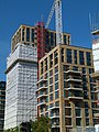 2015 London-Woolwich, Cannon Square construction site 07.jpg