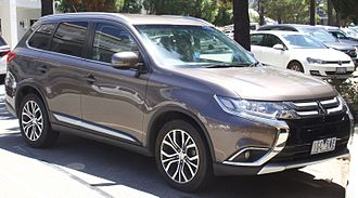 Compact sport utility vehicle - Mitsubishi Outlander