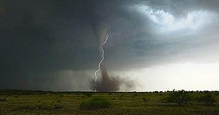 Anticyclonic tornado