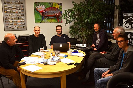 Meeting of local Wikipedians with Wikipedian in Residence at the local space in Hannover