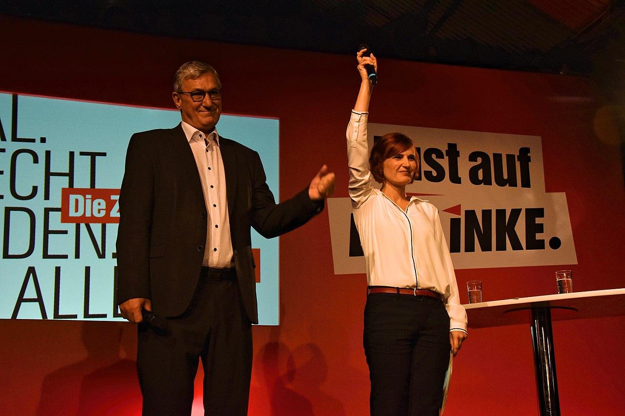 2017-09-24 Katja Kipping und Bernd Riexinger by Jenny Paul - (02).jpg