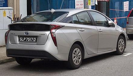 2017 Toyota Prius Hybrid (Singapore)