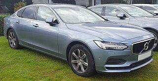 Executive car British term for a large car
