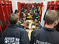 2018-01-13 (102) Self-contained breathing apparatus wearers in the performance test (Finnentest) in the fire station of the volunteer fire department in Weissenburg in Frankenfels.jpg
