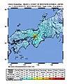 2018 Osaka earthquake intensity map.jpg