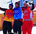 2018 PyeongChang Ski Cross Podium (cropped).jpg