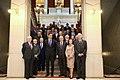 2019-04-04, El presidente de Gobierno, Pedro Sánchez, durante su visita a la sede de la Real Academia Española, SanchezAcademia7.jpg