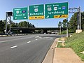 2019-08-08 09 13 19 View south along U.S. Route 29 (Emmet Street) at the junction with U.S. Route 29 Business (Emmet Street) and U.S. Route 250 (Charlottesville Bypass) in Charlottesville, Virginia.jpg