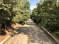 2019-09-12 10 58 53 View north along the George Washington Memorial Parkway from the overpass for Alexandria Avenue in Fort Hunt, Fairfax County, Virginia.jpg