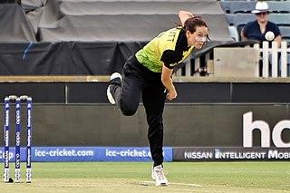 Megan Schutt Australian cricketer