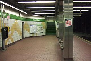 22nd Street station (SEPTA) Subway station in Philadelphia, Pennsylvania