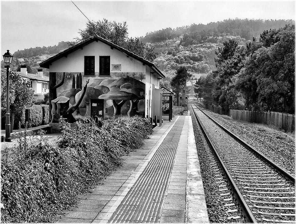 2986-Estacion do Tren en Cabanas (Coruña)