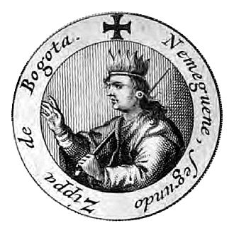 Nemequene - Nemequene depicted in 1688