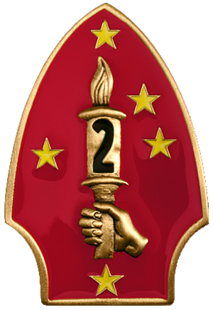 2nd Marine Division (United States) - 2nd Marine Division insignia