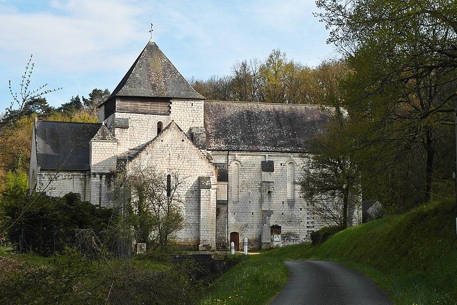 Église Notre-Dame de Rigny-Ussé, côté nord