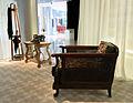 34 Exposició Prat de la Riba i la Mancomunitat, mobiliari d'època.JPG